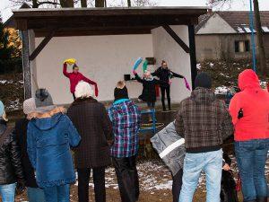 Showtanz zum Kinder-Winterfest