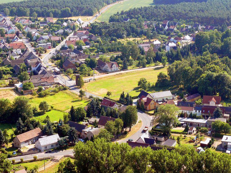 Luftbild von Prieschka