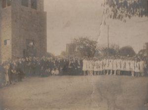 Glockenturm 1929 Einweihung