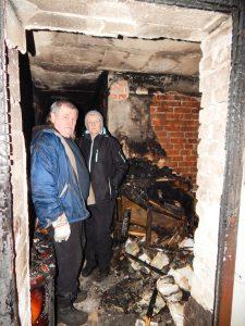 Kellerbrand bei Familie Naumann